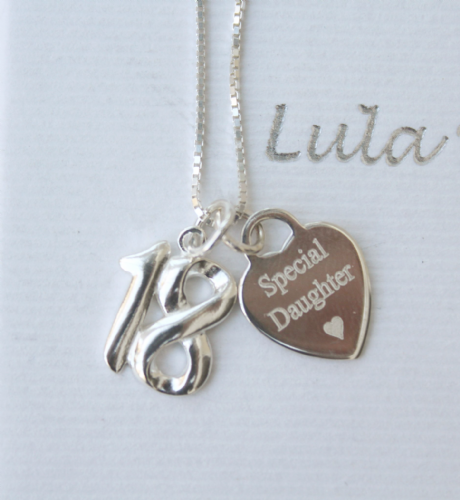 18th birthday gift for a daughter - FREE ENGRAVING